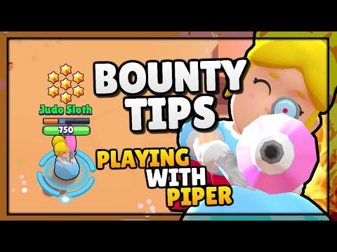 "BOUNTY TIPS - Teamwork Wins...In The End! Playing with Piper in ""Brawl Stars"" [2018]"