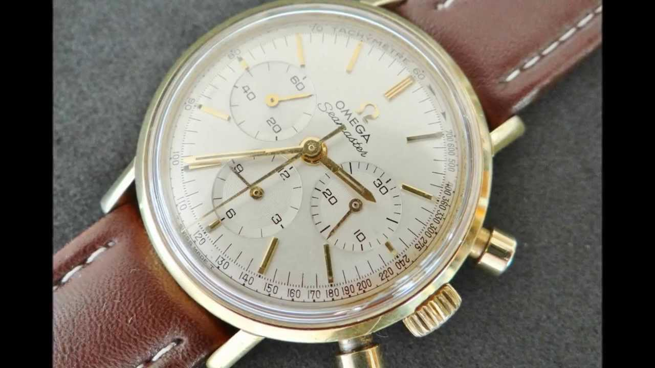 Vintage 1965 Omega Seamaster Chronograph Watch Youtube