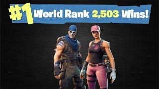 #1 World Ranked | 2,503 Solo Wins | Fortnite Live Stream thumbnail