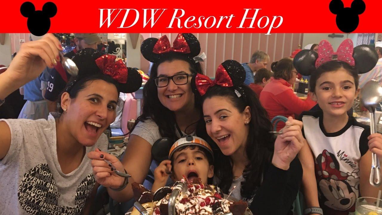 Walt Disney World Resort Hop