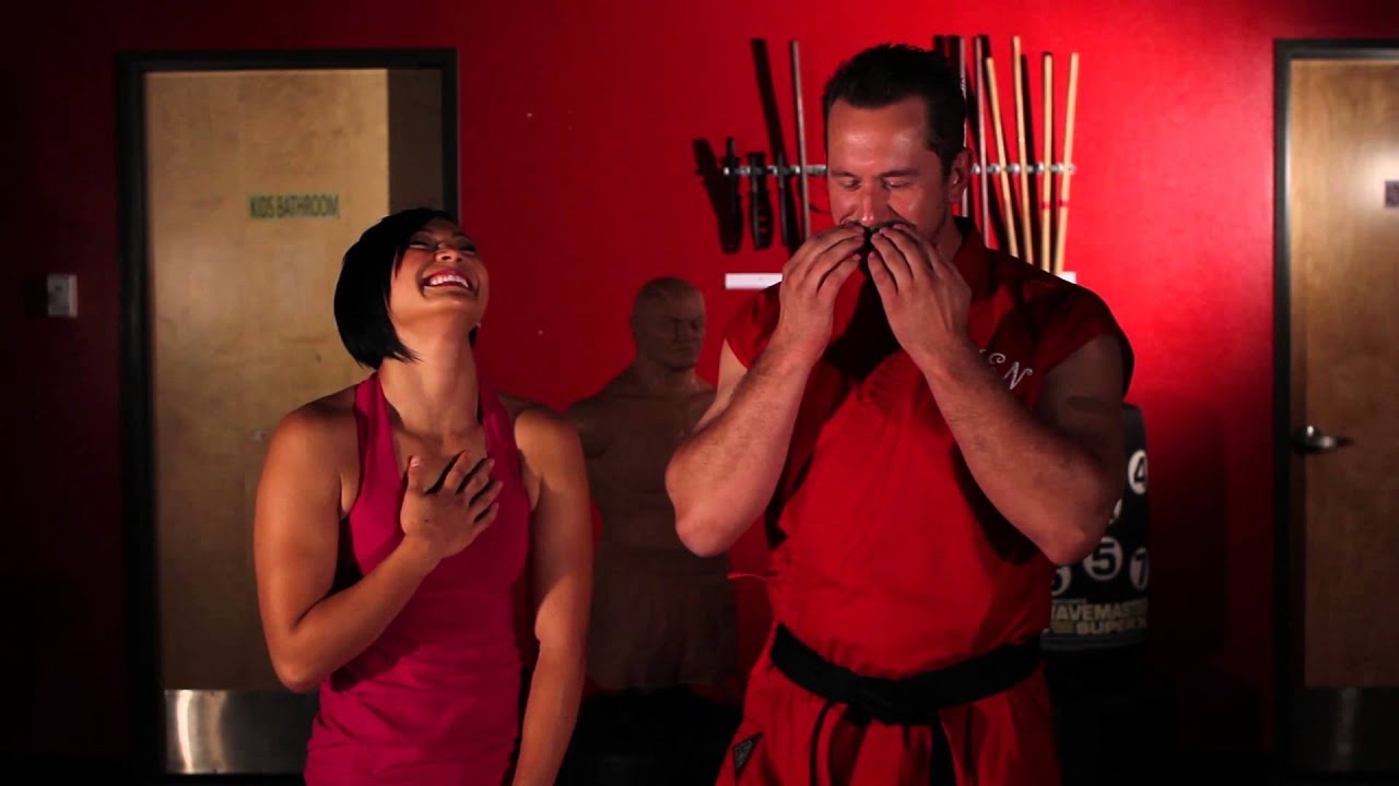 master ken vs  the karate hottie 2  outtakes