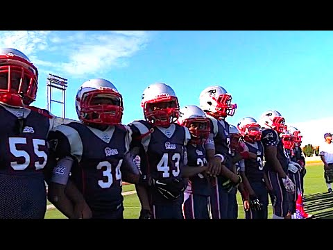 Long Beach Patriots - 11U Vs Merced Gauchos SuperBowl Top Plays