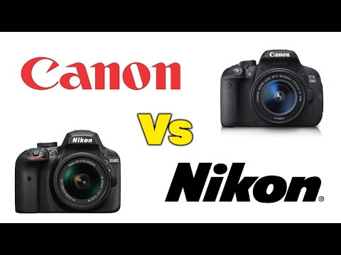 Canon Vs Nikon : Which DSLR Camera Is Better For You?