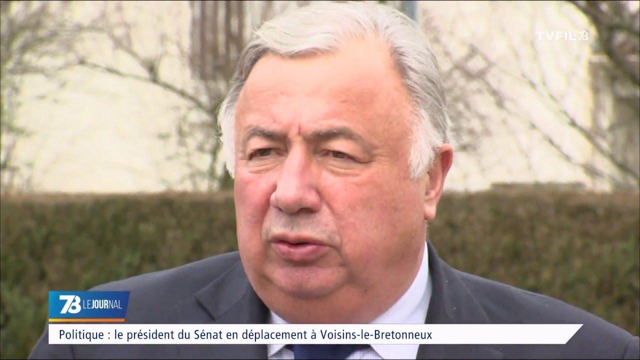 Politique : le président du Sénat en déplacement à Voisins-le-Bretonneux