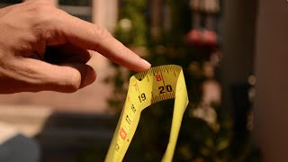 Tape Measure and Pencil Tricks