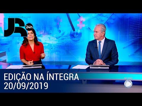 Assista à íntegra do Jornal da Record | 20/09/2019