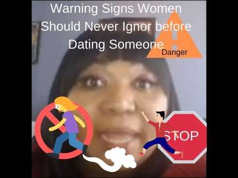 warning signs when dating