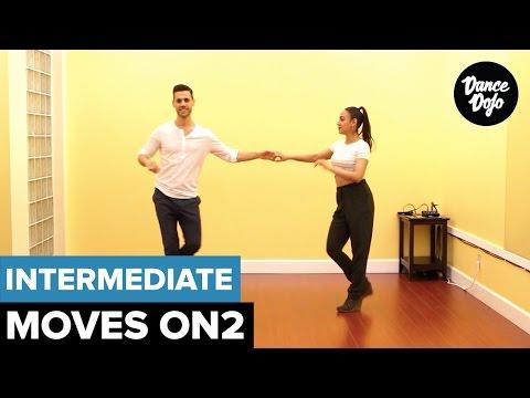 Cross Body Open - Intermediate Salsa Steps On2 | TheDanceDojo.com