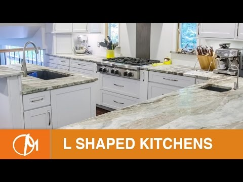 L Shaped Kitchens With Islands | Design Montage