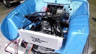 Démarrage R4 Sinpar 1400cc Rétro-Méca