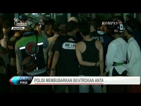 Malam Minggu, Dua Ormas di Jakarta Bentrok