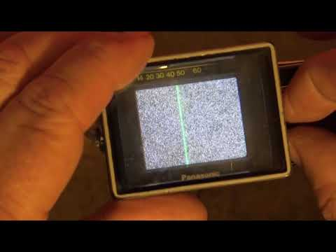 Smallest Color CRT TV set in the world