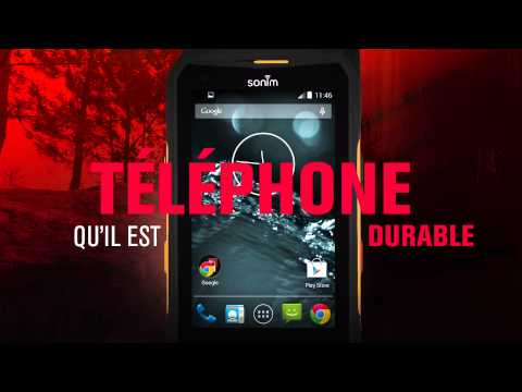 Sonim XP7 - The world's most rugged smart phone (French)