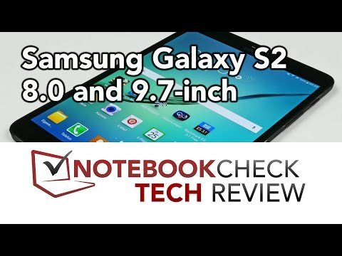 Samsung Galaxy Tab S2 8.0 AND 9.7 Review, Test Results, Overview