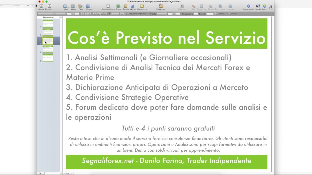 Segnali forex free