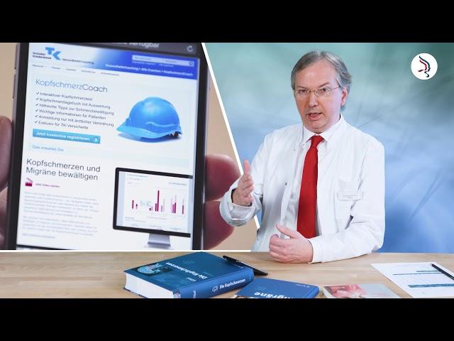 TK-KopfschmerzCoaching der Techniker Krankenkasse – Die Migräne-App