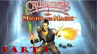 Crusaders of Might and Magic walkthrough part 1.