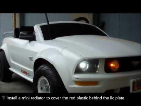 48 volt Mustang power wheels