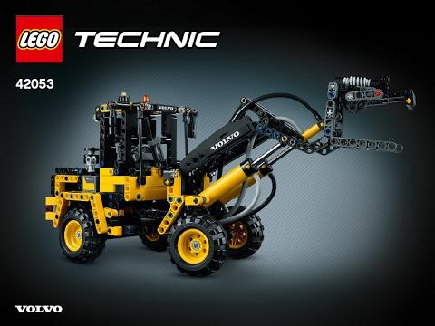 lego technic 42053 volvo b model building instructions. Black Bedroom Furniture Sets. Home Design Ideas