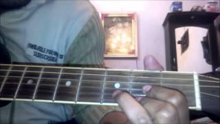 Mera dil tha akela (Baazigar) Guitar Lesson by Rahul Raj