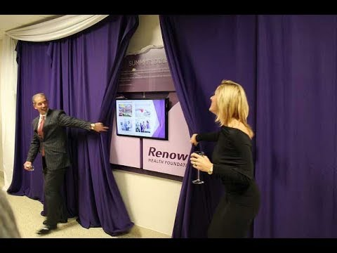 Renown Health Foundation Unveils New Donor Wall