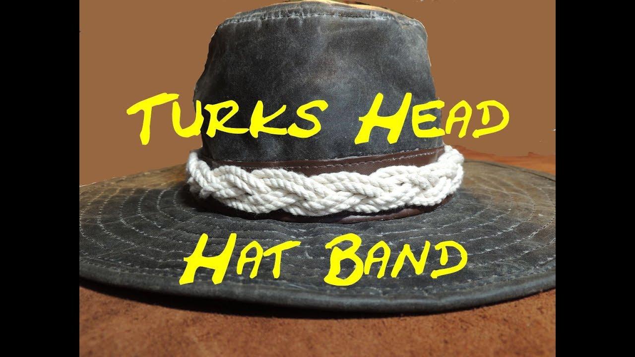 c4fbdfb0513 Hat Band Turks Head - Multi Bight Endless Turks Head - Easy to Tie ...