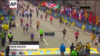 Tears, Anger After Boston Marathon Explosions