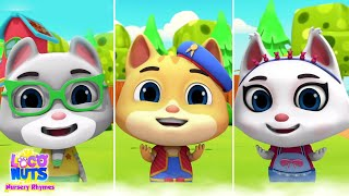 Three Little Kittens   Nursery Rhymes & Kids Songs   Preschool Learning Videos   Kids Tv Cartoon