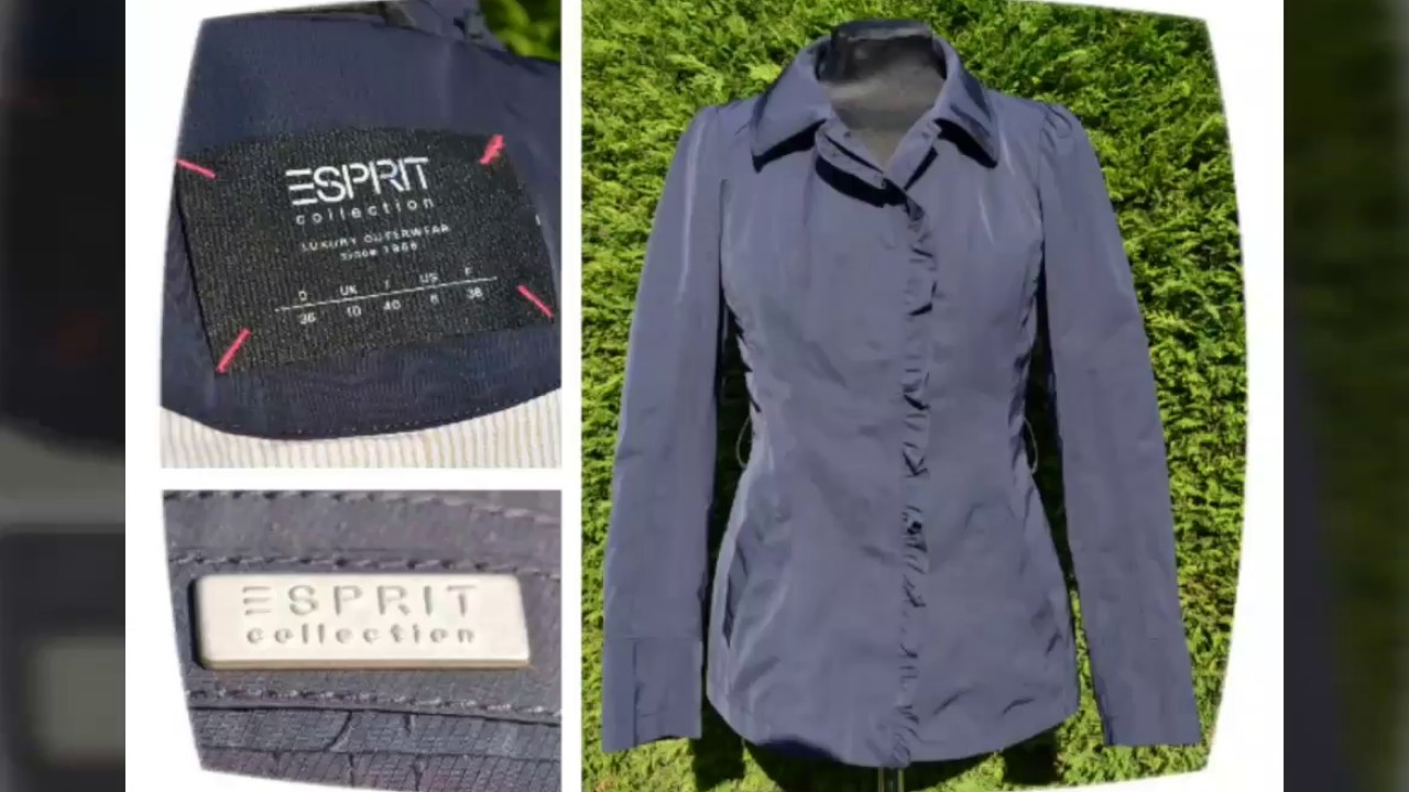 Esprit Collection Damenjacke Blau 36 Jacke Wie Größe Blousson Damen Neu Blazer SUMVzp