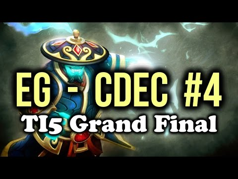 EG (Evil Geniuses) vs CDEC Dota 2 Highlights TI5/The International 5 Grand Final Game 4