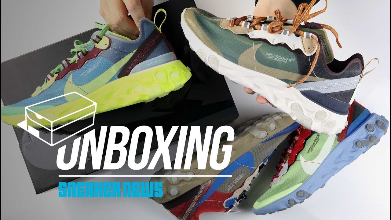 superior quality c83ef 4f443 Undercover React Element 87 Unboxing + Review (Sneaker of the Year )