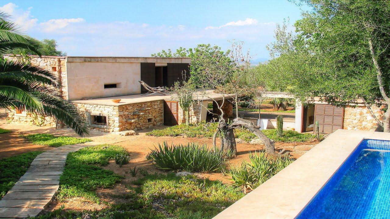 casa de campo minimalista cerca de es llombards mallorca On casas de campo minimalistas