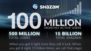 Download Shazam: 15 Billion Songs Shazamed by 500 Million Users Worldwide MP3 song and Music Video