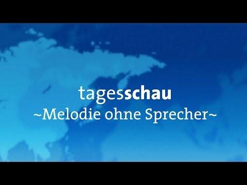 |ARD Aktuell tagesschau Melodie ohne Sprecher! [2014]
