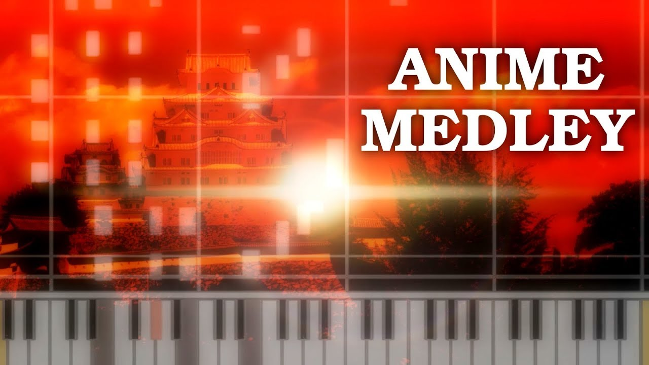 4 chord song piano anime medley 91 themes tutorial midi 4 chord song piano anime medley 91 themes tutorial midi hexwebz Images