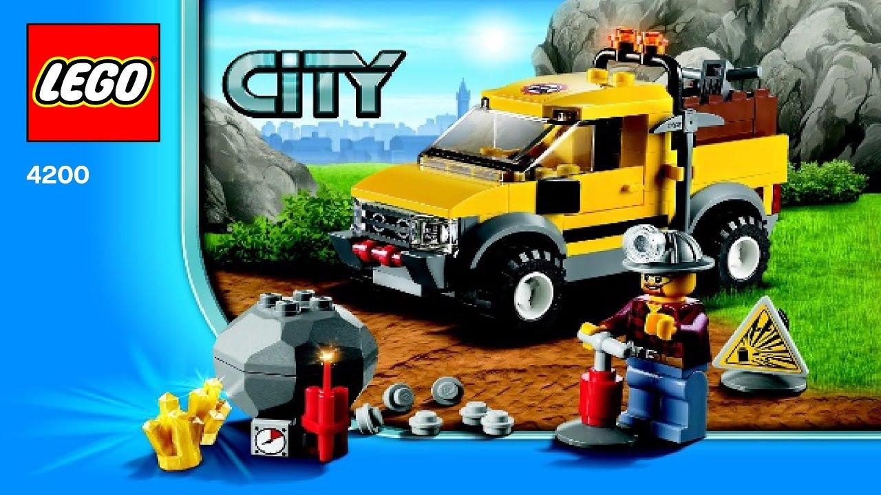 lego city mine instructions