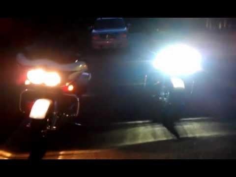 Harley Davidson 2012 Vs 2013 Daymaker Led Headlamps Youtube