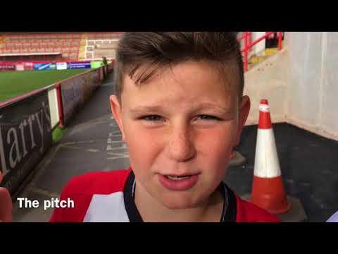 Exeter city vs Newport vlog