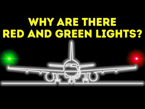 Why Lights at Plane Wing Ends Are Different