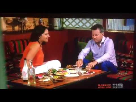 Sydney belly dancer Eleni on Television Channel 9 - Reality Show Married At First Sight