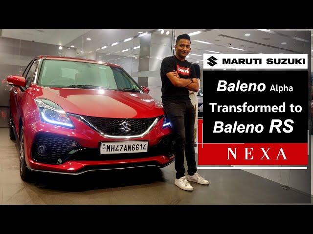 Baleno Alpha 2019 Converted to Baleno RS | Shivam Autozone
