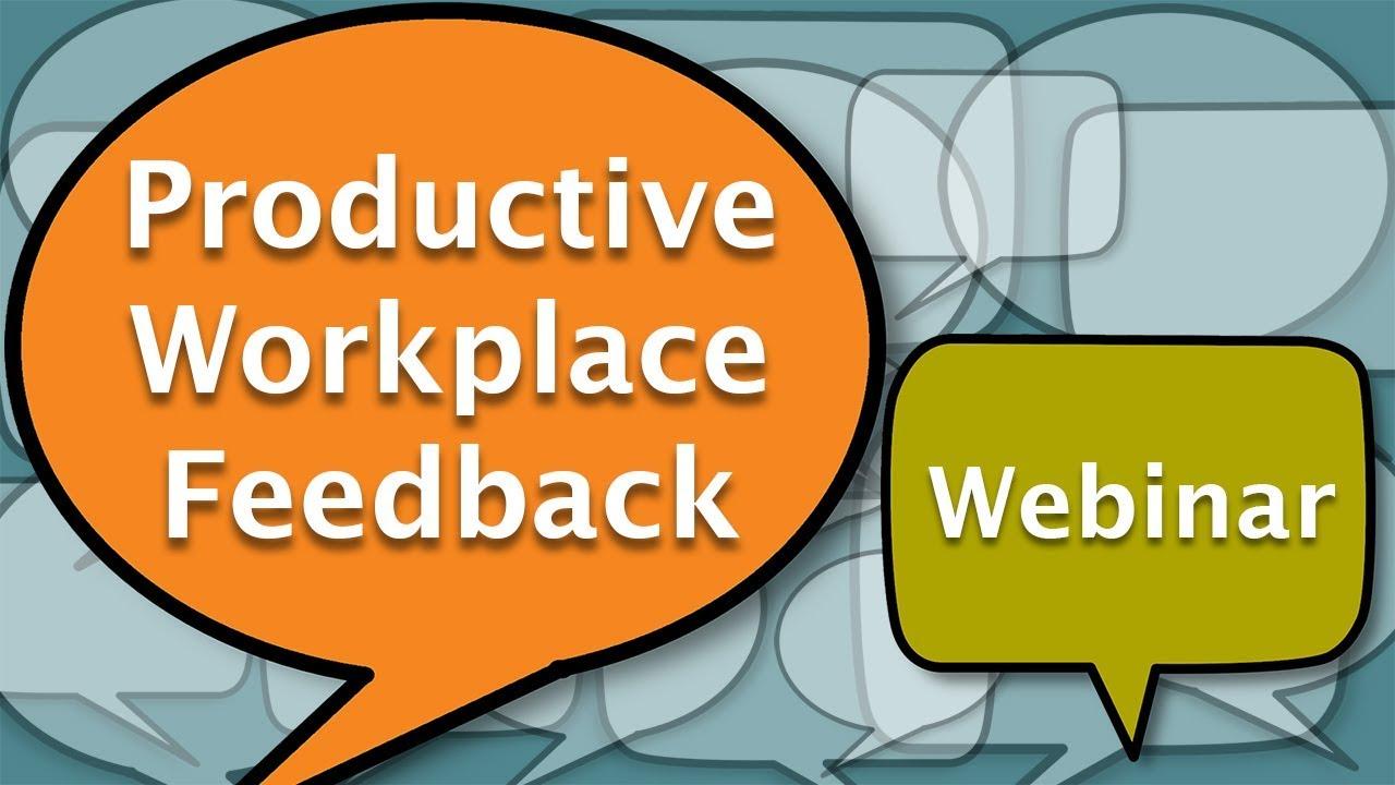 Image for WSU Global: Productive Workplace Feedback webinar