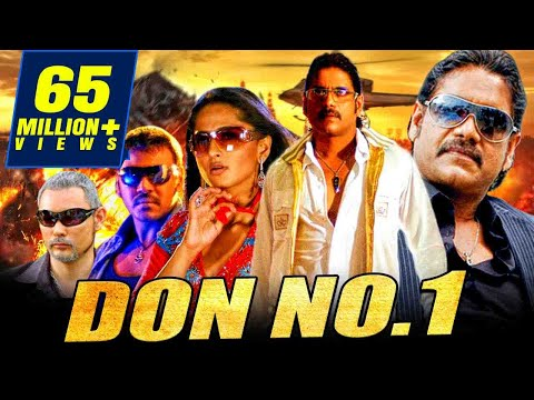 Don No. 1 (Don) Full Hindi Dubbed Movie | Nagarjuna, Anushka Shetty, Raghava Lawrence
