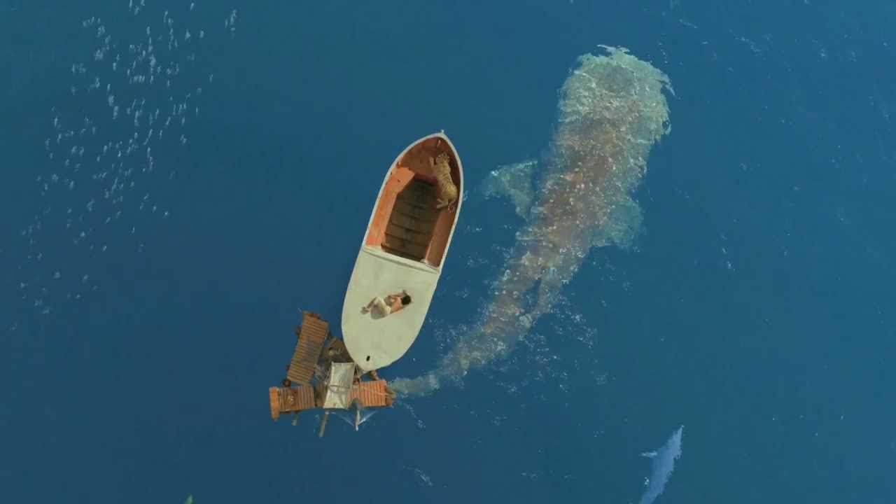 LIFE OF PI - Whale Swimming Under Boat (unseen).ogv - YouTube