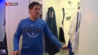 Tour of Dallas Mavericks new locker room with Mark Cuban