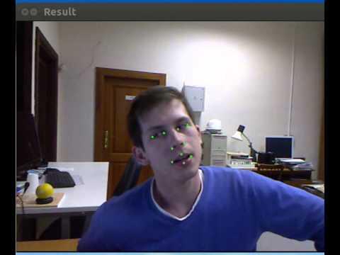 Active Shape Model on Kinect