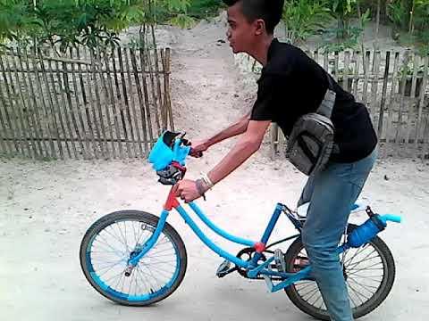 Gambar Modifikasi Sepeda Ontel Drag Motor Modifikasi Terkini Modifikasi Sepeda Ontel Drag