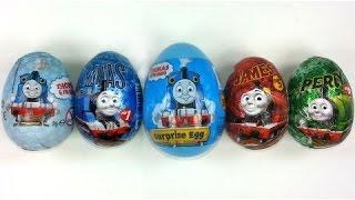 5 Киндер Сюрпризов Томас и Друзья / 5 Thomas and Friends Surprise Eggs