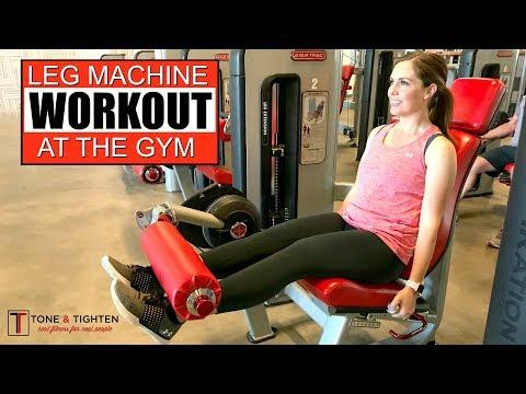 Leg Machine Gym Workout - Leg Machine Exercises To Tone And Strengthen Your Legs