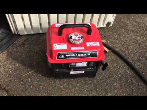 Harbor Freight Storm Cat 900 watt 2 cycle 63cc generator review *Important Buyer Information*